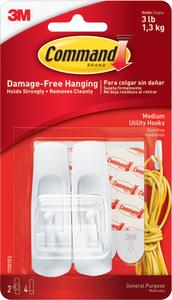 Command Hooks Medium 3lb 2 Pack