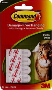 Command Poster Strips 12ct