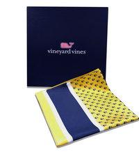 Vineyard Vines Square Silk Scarf