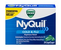 Vicks Nyquil Cold & Flu 12oz