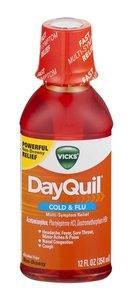 Vicks Dayquil Cold & Flu 12oz Liquid