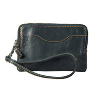 Carolina Sewn Leather Clutch Wallet