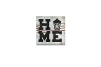 """Legacy Wood Magnet 3x3"""" - Home"""