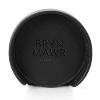 Carolina Sewn Deluxe Round Leather Coaster Set