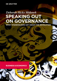 Speaking Out on Governance