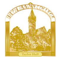 Ornament - Brass Taylor Hall