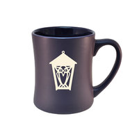 Ceramic Mug - Etched with Lantern