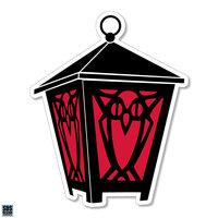 "Lantern Auto Magnet - 6"""
