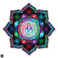 "Decal - 3"" Mandala in Class Colors"