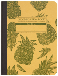 Decomposition Book with Dot Grid