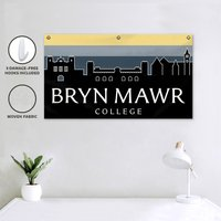 Campus Canvas Room Banner with Damage-Free Hooks