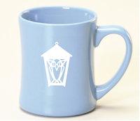 Ceramic Mug - Etched with Lantern