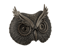 Veronese Steampunk Owl Mask Wall Plaque
