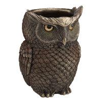 Veronese Steampunk Owl Pen Holder