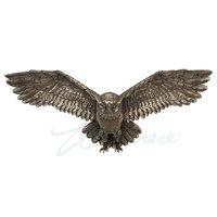 Veronese Flying Owl Wall Plaque