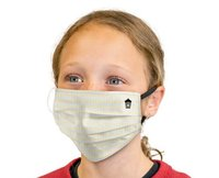 League Three Layer Face Mask for Small Adult / Youth