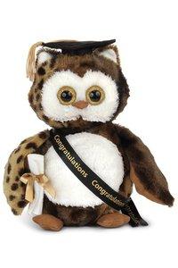 Bearington Wisdom Graduate Owl