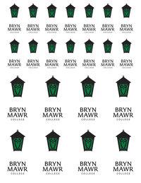Bryn Mawr Sticker Sheet